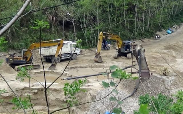 Tình trạng khai thác khoáng sản trái phép ở Hà Giang vẫn diễn ra phức tạp