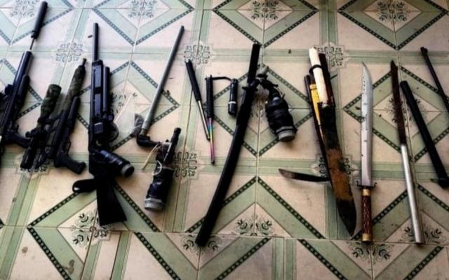 Gia Lai: Công an Thị xã Ayun Pa thu hồi nhiều vũ khí và súng tự chế