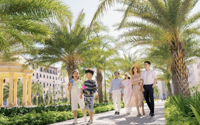 Lên thành phố, Phú Quốc lột xác với khu đô thị kiểu mẫu đầu tiên
