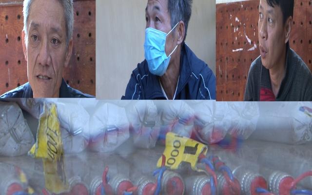Lai Châu: Bắt 3 đối tượng mua bán trái phép 13 kg thuốc nổ công nghiệp