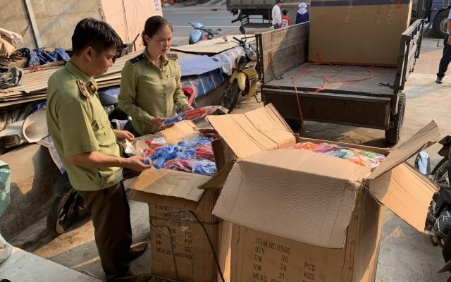 Lực lượng chức năng Bình Định tạm giữ lô đồ chơi trẻ em không rõ nguồn gốc xuất xứ
