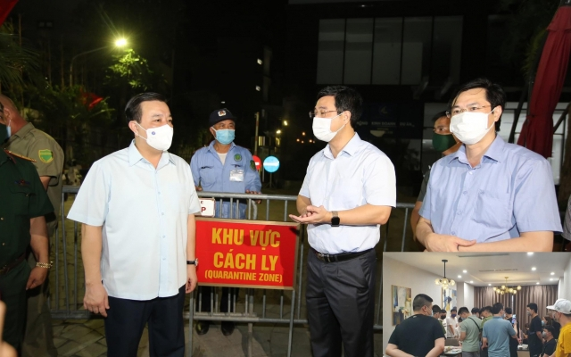 Phó Chủ tịch Hà Nội chỉ đạo