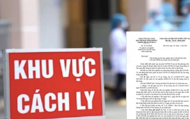 Bắc Ninh: Tăng số lần xét nghiệm Covid-19