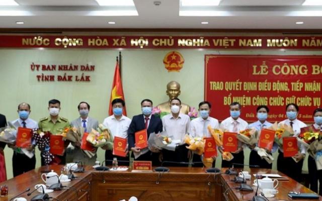 Đắk Lắk: Bổ nhiệm một số lãnh đạo sở, ngành
