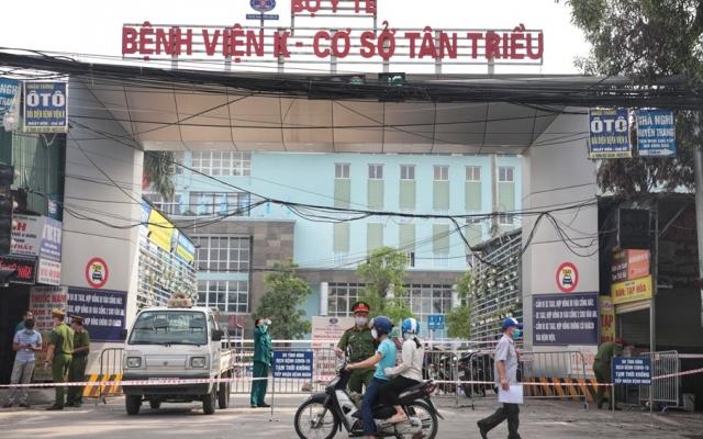 Cuộc sống trong tâm dịch Bệnh viện K Tân Triều