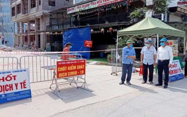 Dịch Covid-19 diễn biến phức tạp, tỉnh Bắc Giang tiến hành giãn cách xã hội huyện Việt Yên