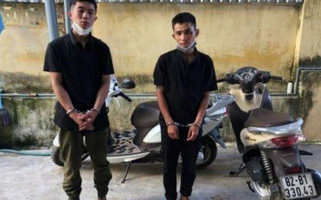 Kon Tum: Bắt 2 đối tượng đột nhập nhà dân trộm cắp xe máy