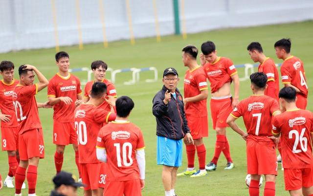 Đội tuyển Việt Nam đấu Jordan, thầy Park lệnh học trò