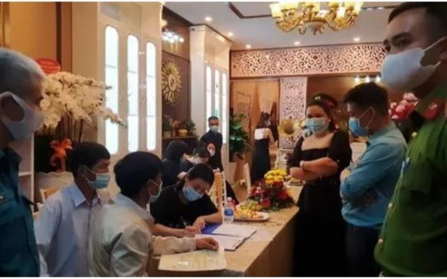 Công an vào cuộc vụ hàng chục người tụ tập tại buổi khai trương thẩm mỹ viện bất chấp lệnh cấm