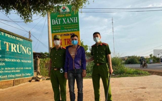Đắk Lắk: Bực tức vì bị phạt vi phạm giao thông đối tượng cầm dao đi cướp
