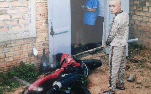 Kon Tum: Bắt tạm giam đối tượng ghen tuông mù quáng đốt xe và đánh người gây thương tích