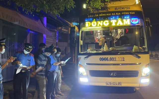 Đắk Lắk: Xử phạt nhà xe vi phạm công tác phòng chống dịch COVID-19