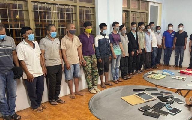 Đắk Lắk: Triệt phá đường dây đánh bạc qua mạng lên tới 26 tỷ đồng