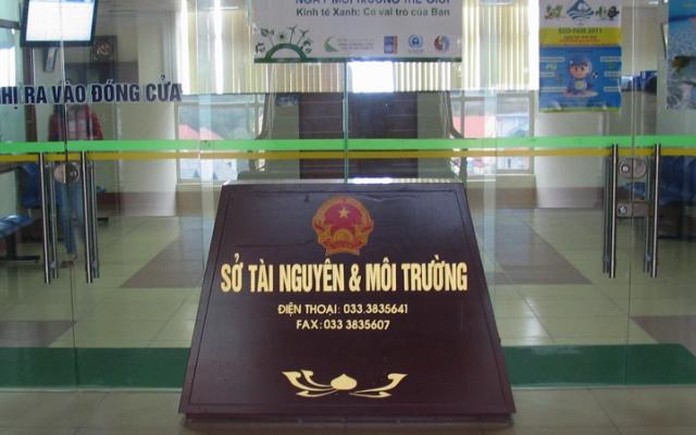 Quảng Ninh: Kỷ luật Phó Giám đốc, nguyên Phó Giám đốc Sở Tài nguyên và Môi trường do có vi phạm về đất đai