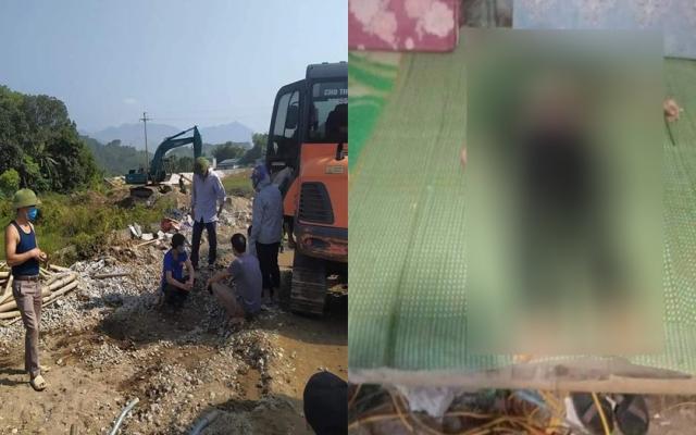 Hà Giang: Gầu máy xúc bất ngờ rơi khiến nam thanh niên tử vong