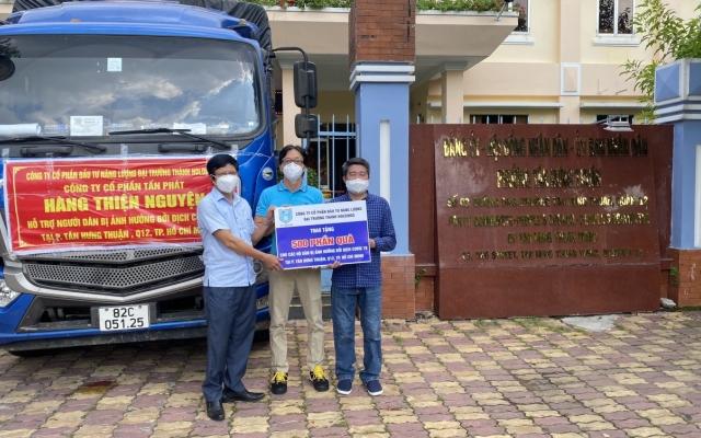 Một doanh nghiệp ở Kon Tum mua 50 tấn gạo, 20 tấn cá gửi bà con TP Hồ Chí Minh