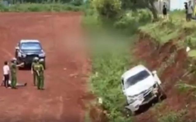 Gia Lai: Lại dùng ô tô tông nhau để giải quyết mâu thuẫn