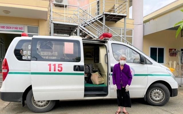 Nghệ An: Cụ bà 105 tuổi khỏi bệnh Covid-19
