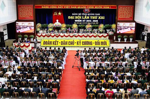 Đại hội đại biểu Đảng bộ tỉnh Quảng Nam diễn ra từ từ ngày 11 đến 13/10