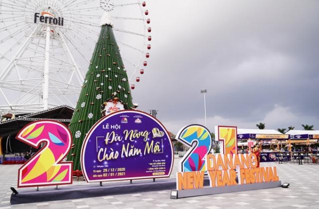 Đà Nẵng: Sôi động chương trình nghệ thuật đường phố mừng năm mới 2021