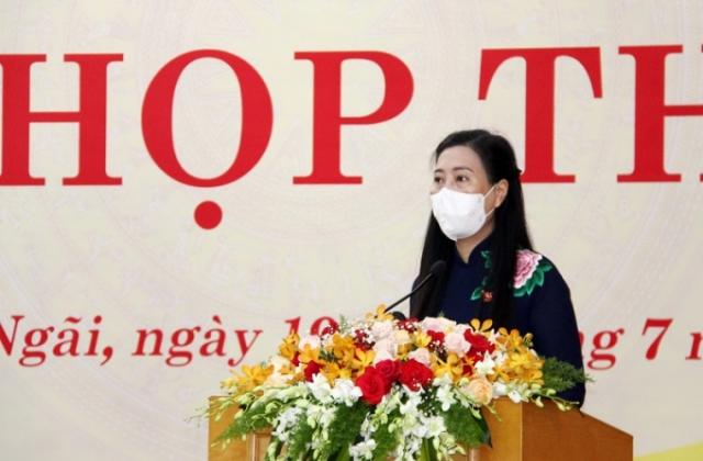Khai mạc kỳ họp thứ 2 HĐND tỉnh Quảng Ngãi khóa XIII