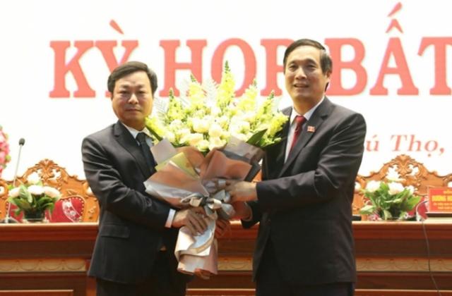 Tân Chủ tịch UBND Phú Thọ đạt 100% số phiếu tín nhiệm là ai?