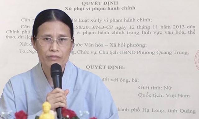 UBND phường gặp khó khi giải quyết khiếu nại của bà Phạm Thị Yến