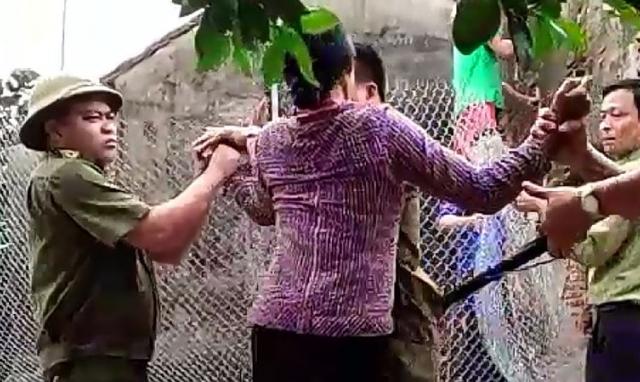 Cuộc 'cưỡng chế' gây bất bình ở xã Đội Bình, huyện Ứng Hòa