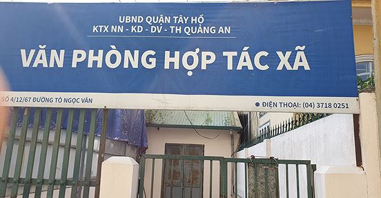 Hà Nội: Chợ Quảng An bị tố thu phí trái quy định