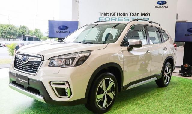 Subaru Forester 2019: Cạnh tranh mạnh mẽ với Honda CR-V, Mazda CX-5