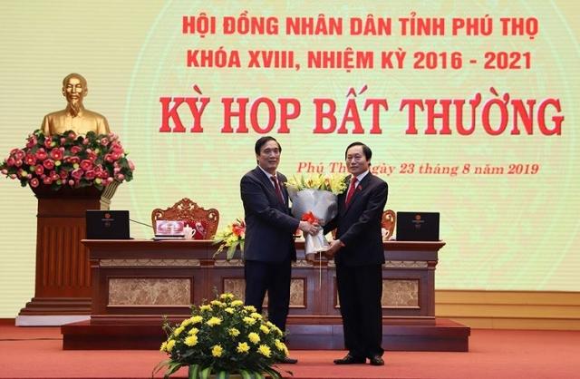 Phú Thọ bầu Phó Chủ tịch HĐND và Phó Chủ tịch UBND tỉnh mới