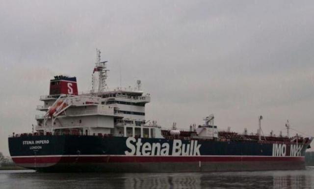 Iran bắt tàu, 12 thủy thủ Philippines ở Eo biển Hormuz