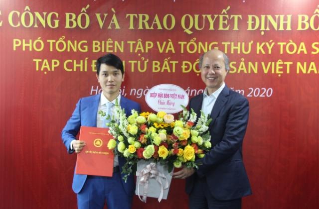 Ông Bùi Văn Khương được bổ nhiệm Phó Tổng biên tập Tạp chí điện tử Bất động sản Việt Nam