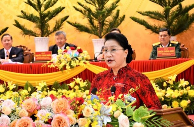 Chủ tịch Quốc hội Nguyễn Thị Kim Ngân chỉ đạo Đại hội Đảng bộ Cần Thơ