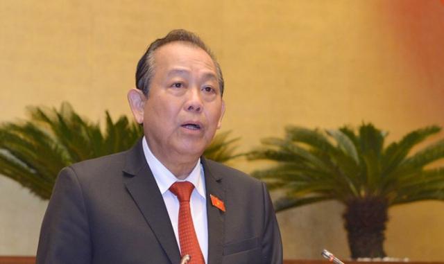 Quốc hội bắt đầu phiên chất vấn các thành viên Chính phủ