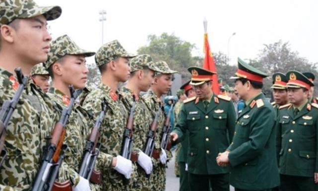 Quân đội sẵn sàng các phương án bảo vệ tuyệt đối an toàn Đại hội XIII