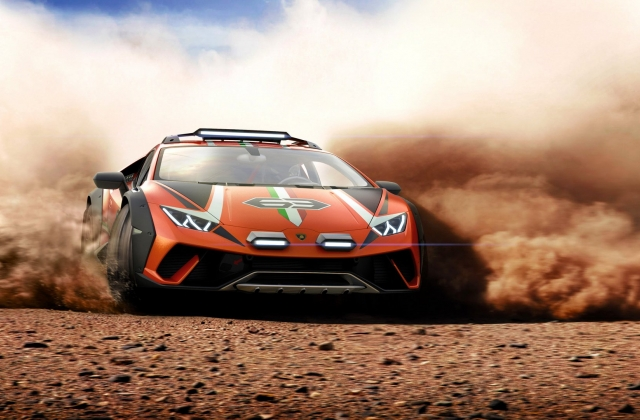 Lộ diện siêu xe offroad hầm hố Lamborghini Huracan Sterrato