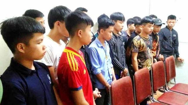 Nghệ An: Đi đánh ghen giúp bạn, 19 thanh niên bị bắt giữ