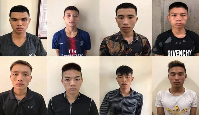 Hà Nội: Bắt 8 đạo chích nghiện game chuyên cướp tài sản trên đại lộ Thăng Long