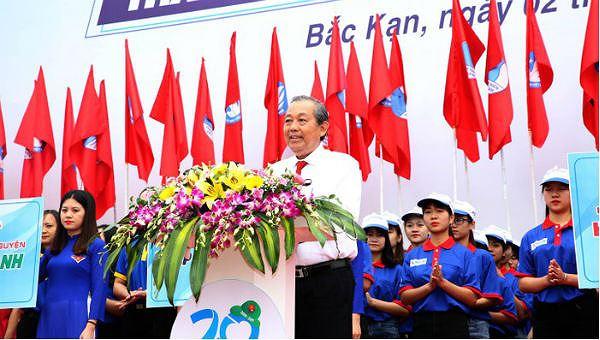 Phó Thủ tướng Thường trực phát động Chiến dịch thanh niên tình nguyện
