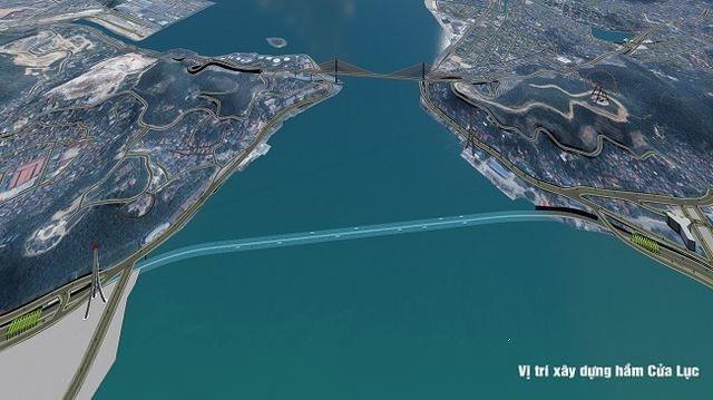 Xây dựng hầm xuyên biển lớn nhất Việt Nam ở Quảng Ninh
