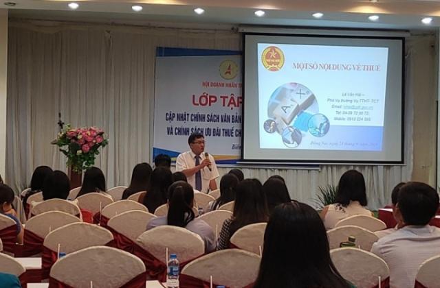 Phát huy vai trò tiên phong của Hội Doanh nhân trẻ tỉnh Đồng Nai