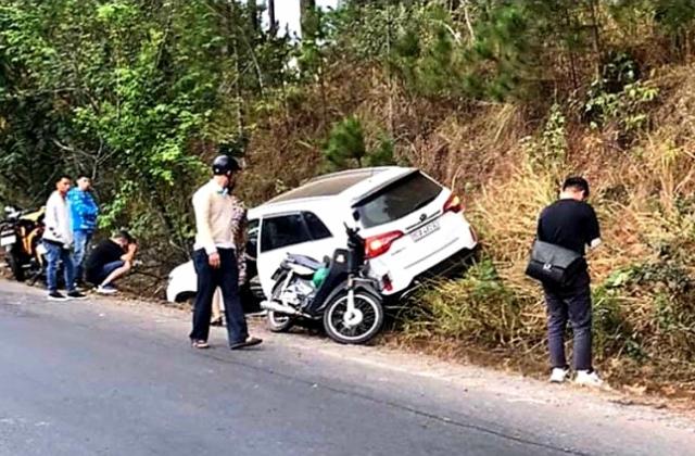 Bắt tài xế ôtô gây tai nạn khiến thai phụ tử vong ở Lâm Đồng