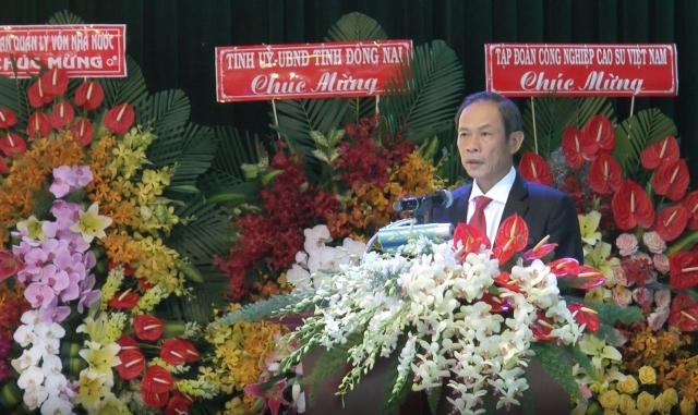 Tổng Công ty cao su Đồng Nai kỷ niệm 45 năm thành lập
