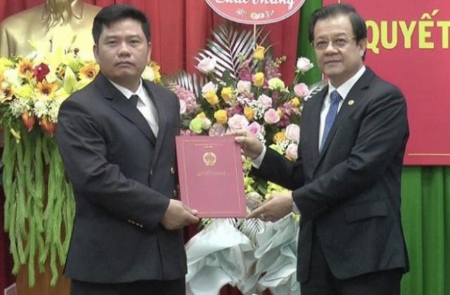 Bổ nhiệm Phó Chánh án Toà án nhân dân tỉnh Đắk Nông