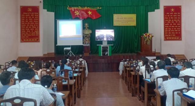 Nhơn Trạch tổ chức nhiều hội nghị tập huấn nghiệp vụ bầu cử