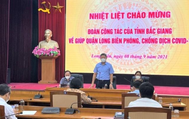 Bắc Giang cử 806 y, bác sĩ hỗ trợ Hà Nội chống dịch