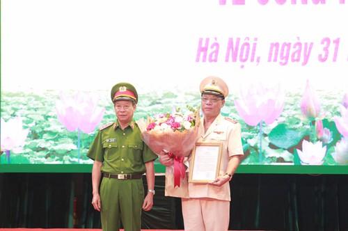 Thiếu tướng Nguyễn Hải Trung làm giám đốc Công an TP Hà Nội