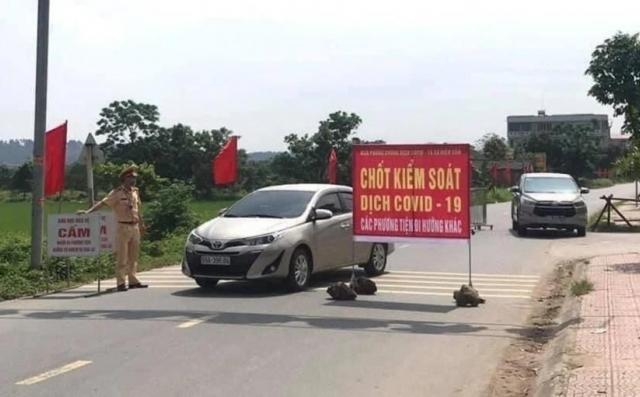 Dịch Covid-19 diễn biến phức tạp, Bắc Ninh yêu cầu giãn cách xã hội huyện Thuận Thành từ 14h ngày 9/5