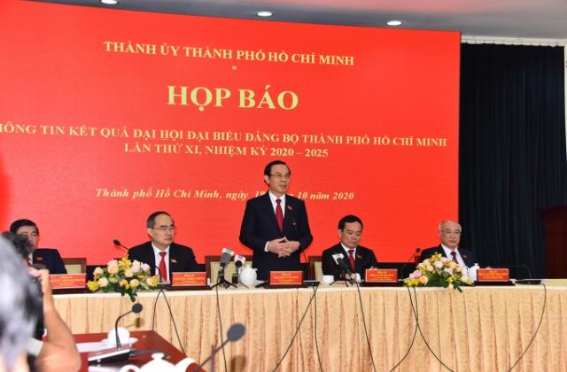 Đại hội Đại biểu lần thứ XI Thành phố Hồ Chí Minh thành công tốt đẹp